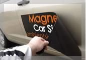 Magnetskilt til bil - Magnetprodukter AS